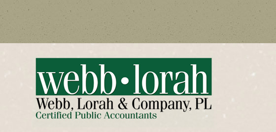 Welcome to Webb, Lorah & Company, P.L. | Certified Public Accountants